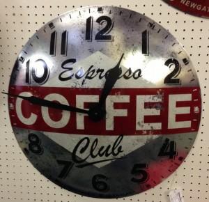 Newgate Coffee Clock