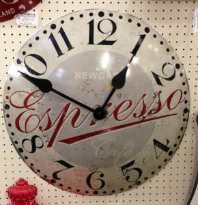 Newgate Espresso Clock