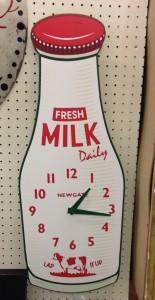 Newgate Milk Clock