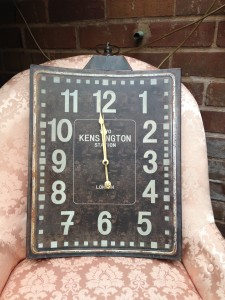 Wall hinging clock £29.50