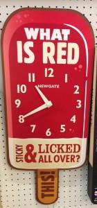 newgate lolly clock medium