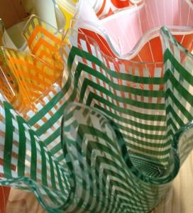 Handkerchief Vase Green 1