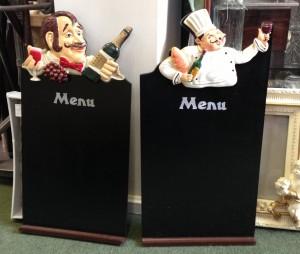 small menu boards