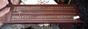 Snooker Score Board