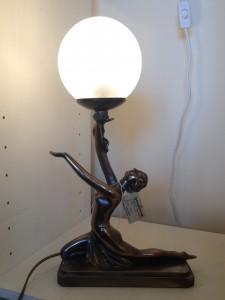 Lady moon lamp