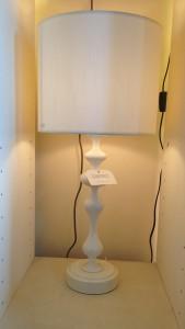 White Wobble lamp
