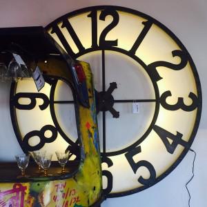 Large Light up Clock