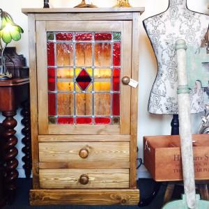 Pine Pot Cupboard 1