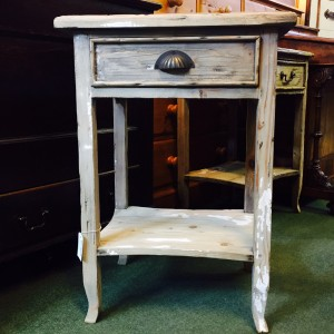 Rustic Bedside Table