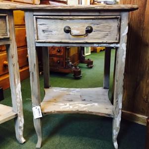 Rustic Bedsie Table 1