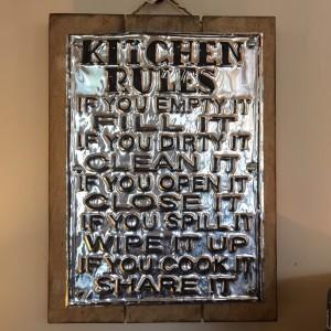 Sign Kitchen